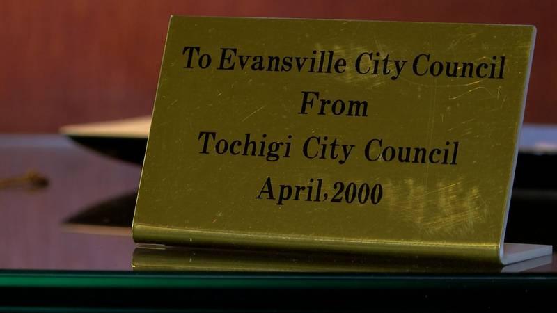 Evansville's sister city, Tochigi City, sits just north of Japan.