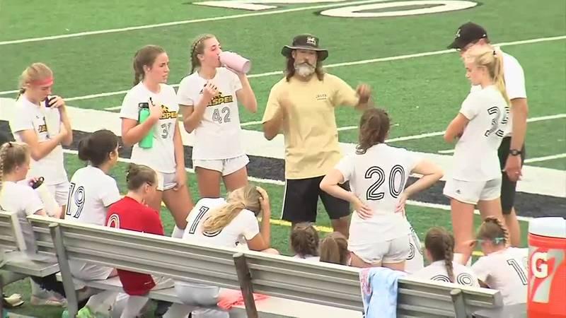 IHSAA 2A Girls Soccer Regional: Jasper vs. Northview