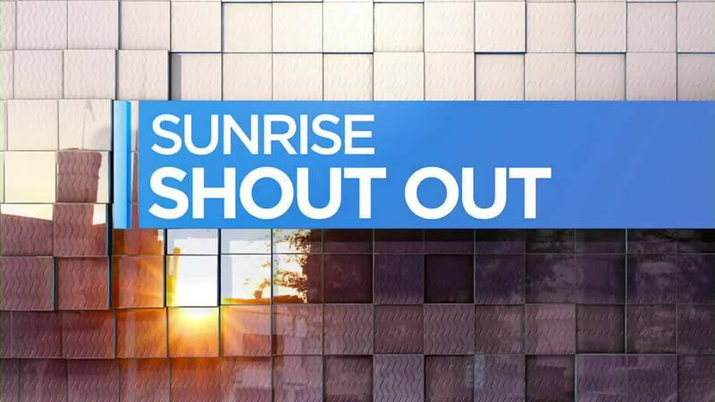 14 News Sunrise Shoutout 9/1