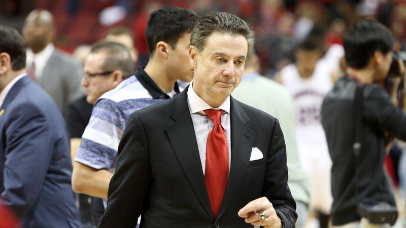 Rick Pitino was fired following the FBI investigation into bribery and corruption in college...