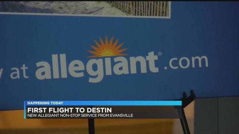 New Destin flight at EVV (WFIE)