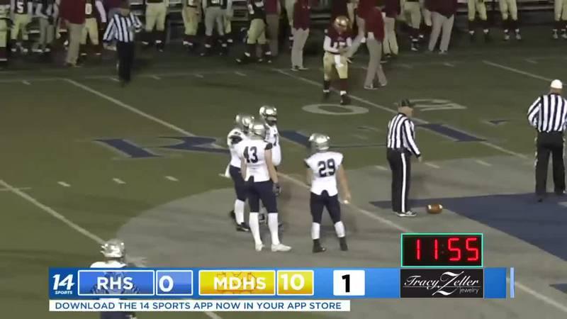 Reitz vs. Mater Dei Second Quarter