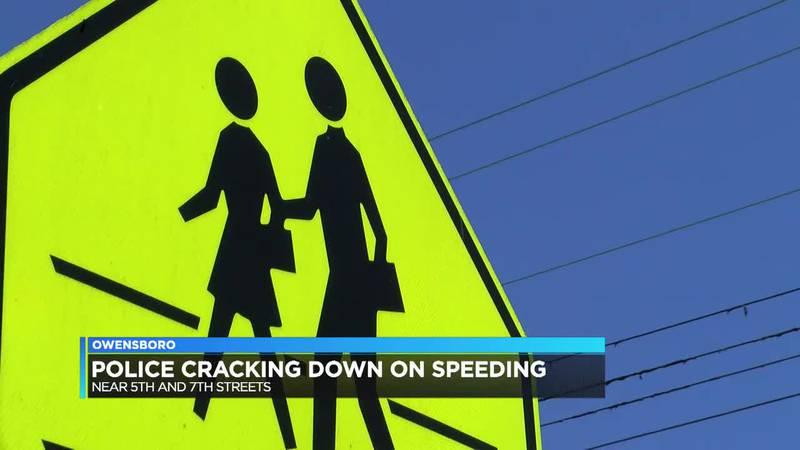OPD cracking down on speeding, especially in school zones