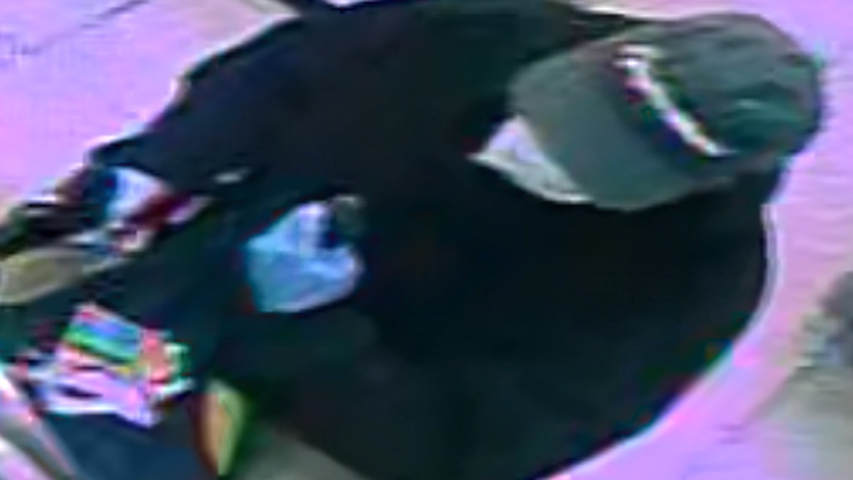 Gas station robbery suspect