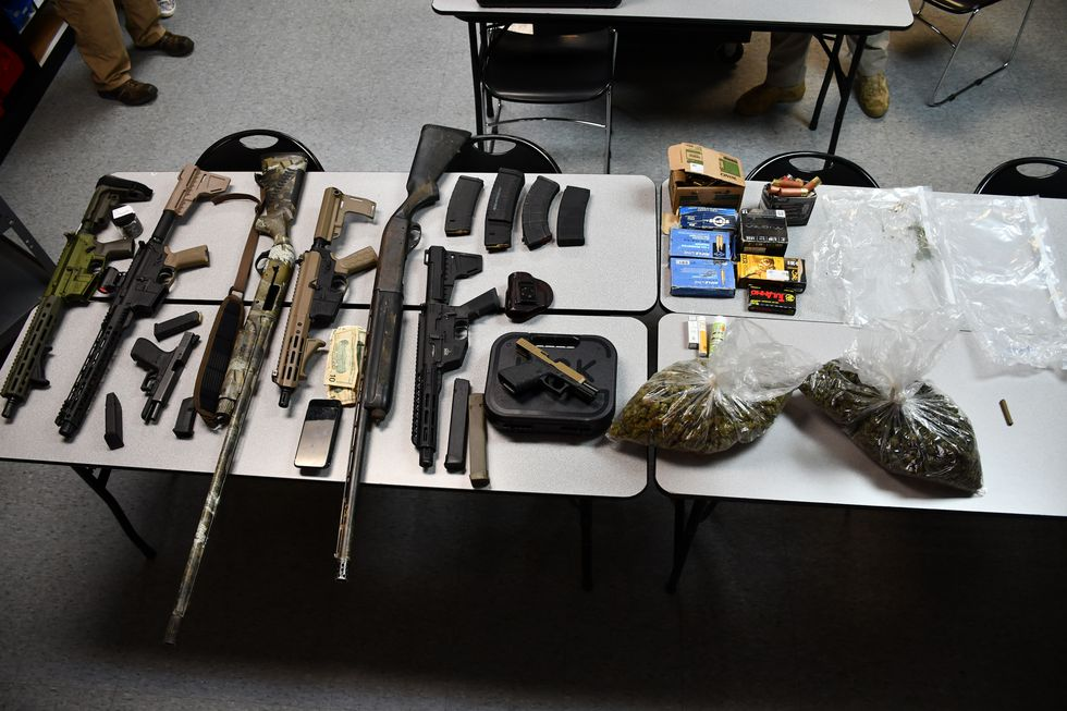 Items detectives say were found in Lynn's car