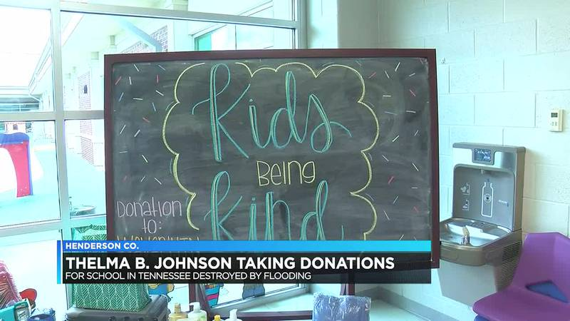 Henderson Co. students sending supplies to Waverly flood victims