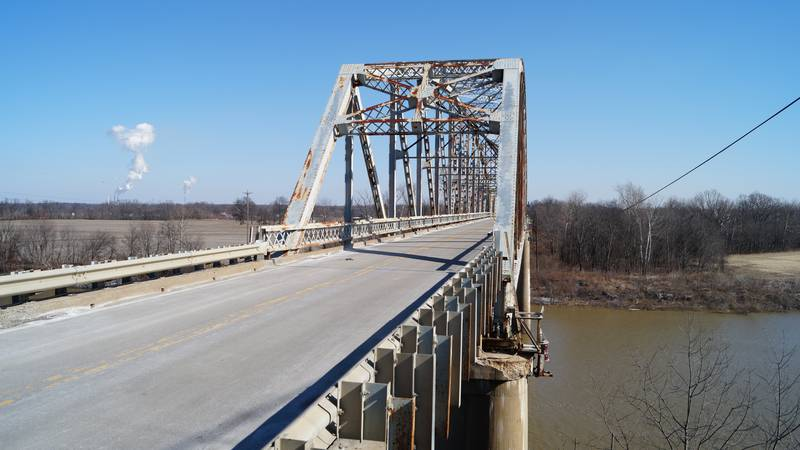 Traffic Alert: Temporary diversion slated on Spottsville Bridge beginning Monday