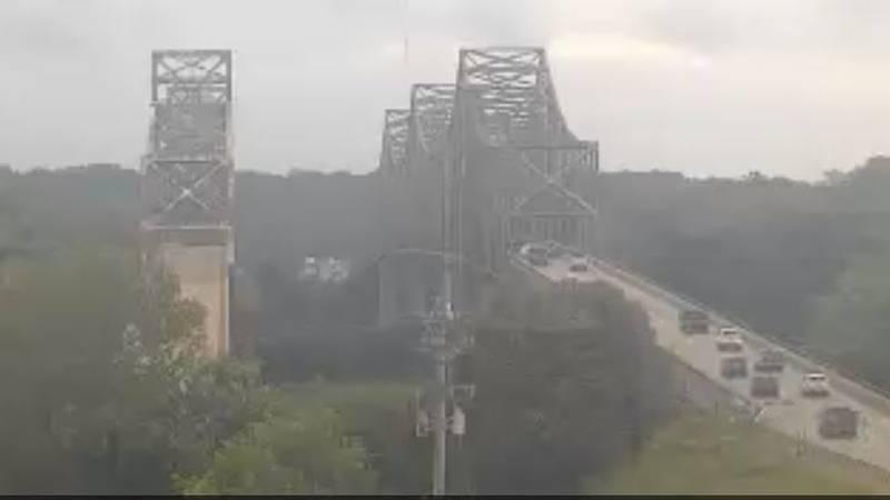 Traffic Alert: Crash near NB Twin Bridge