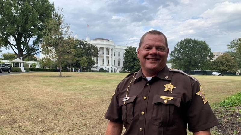 Sheriff Tom Kleinhelter at the White House