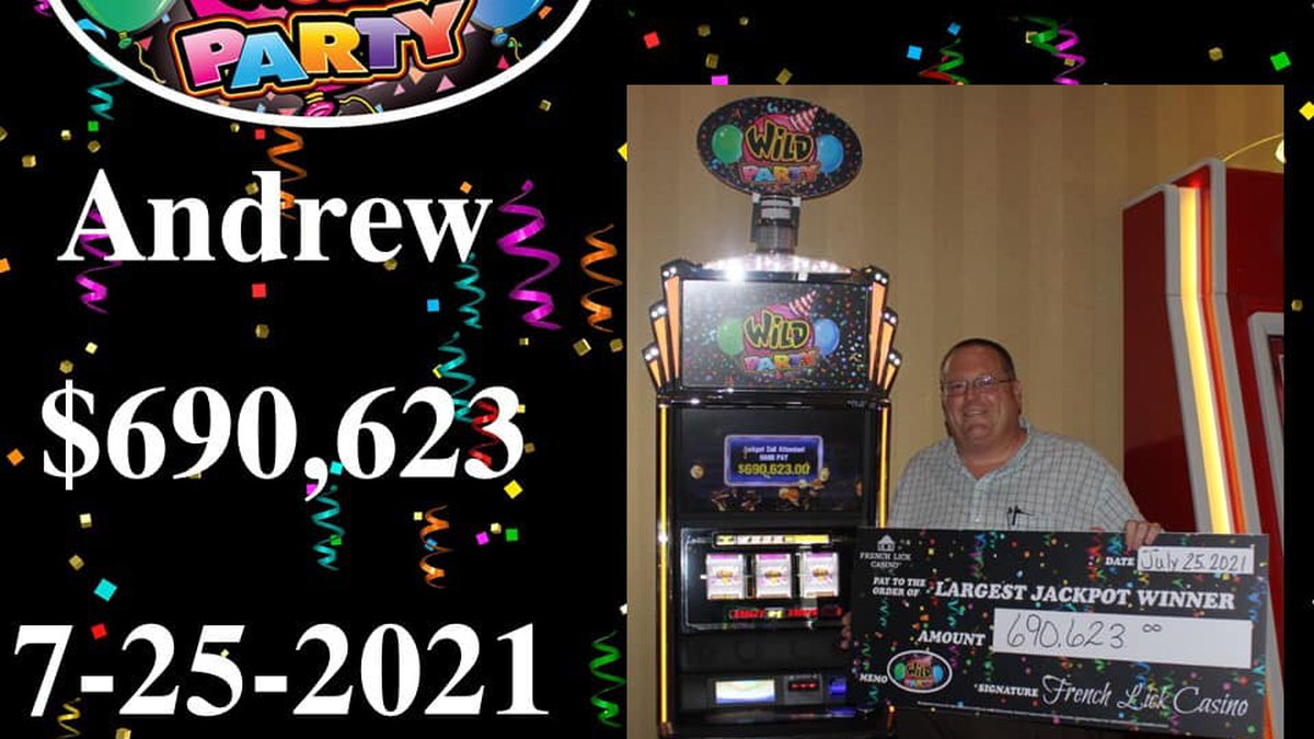 Biggest jackpot winner ever at French Lick Casino