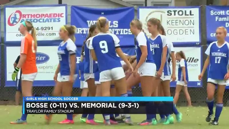 HS Girls Soccer: Bosse vs Memorial
