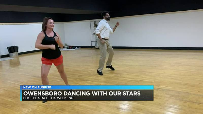 Dancing with our Stars fundraiser happening this weekend in Owensboro.