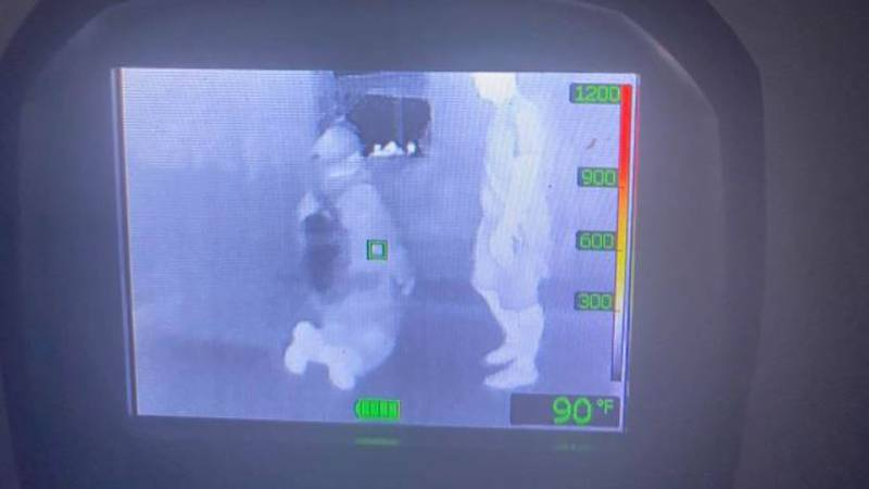 Thermal imaging camera grants awarded to Graham Fire Dept.