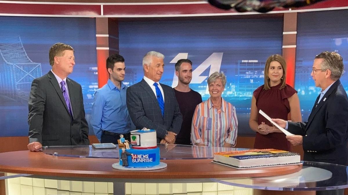 Dan Katz retires after 38 years at 14 News.