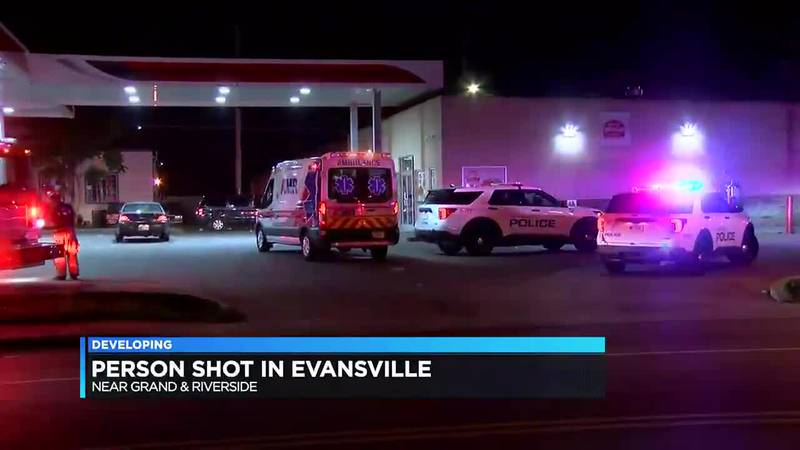 Police: Person shot in Evansville Thursday night