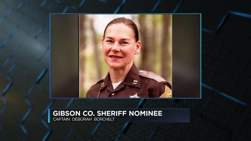 Captain Deborah Borchelt announces bid for Gibson Co. Sheriff.