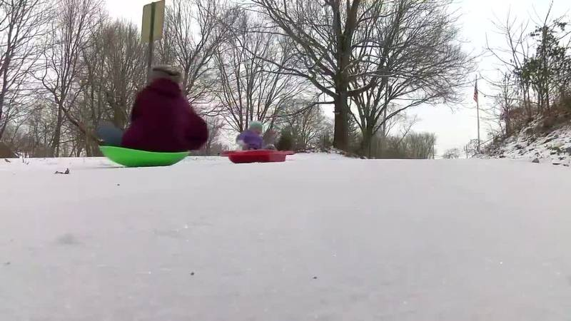 Road stays untreated for sledding in Winslow
