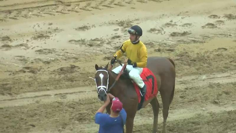 New Boss rides to victory despite soggy conditions at Ellis Park Pea Patch Overnight Stakes