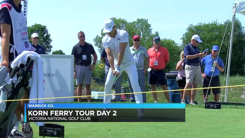 Korn Ferry Tour officials seeing record crowds at this year's golf tournament