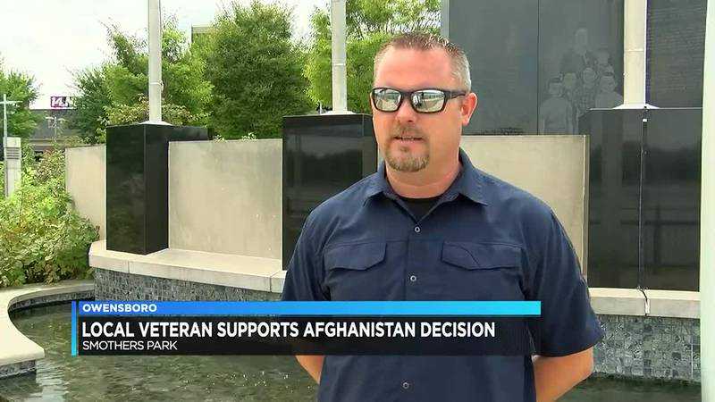 Owensboro veteran reacts to decision to pull troops from Afghanistan