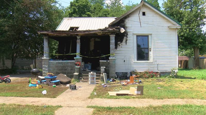 Police say a fire broke out in the 100 Block of  Sycamore Street.