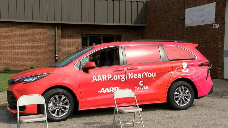 Toyota, AARP donate vans to Carver Community Organization