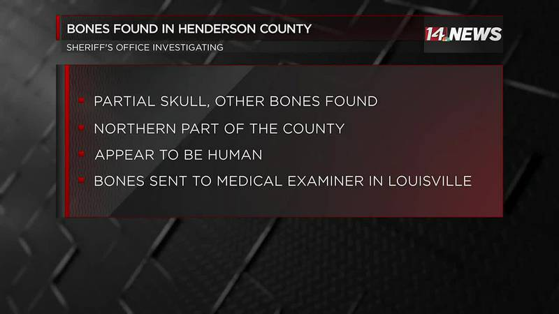 Possible human bones found in Henderson Co.