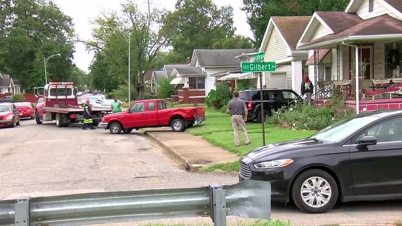 Homeowner discusses SUV hitting house