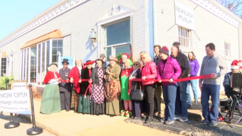 Newburgh celebrated the town museum's new location on the corner of State and First street with...