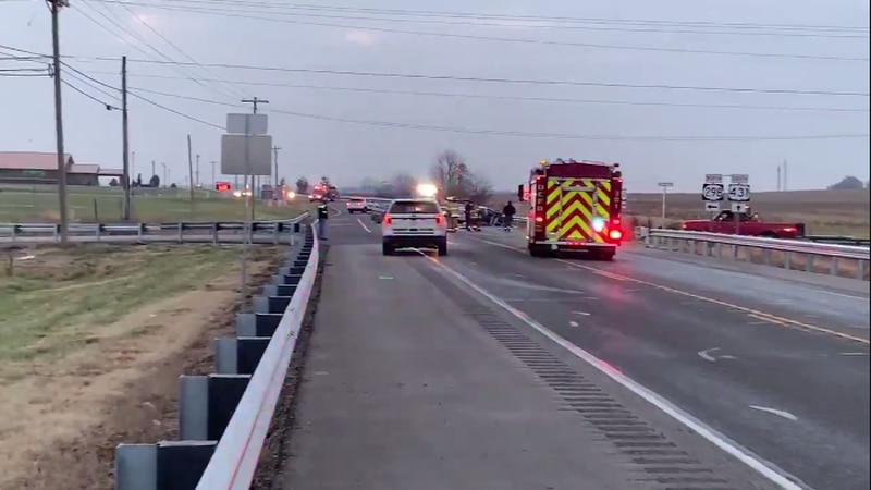 Hwy 431 is shut down in both directions at Hill Bridge Rd. due to a crash.