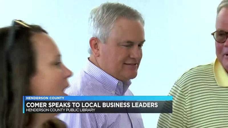 Rep. James Comer speaks to Henderson business leaders
