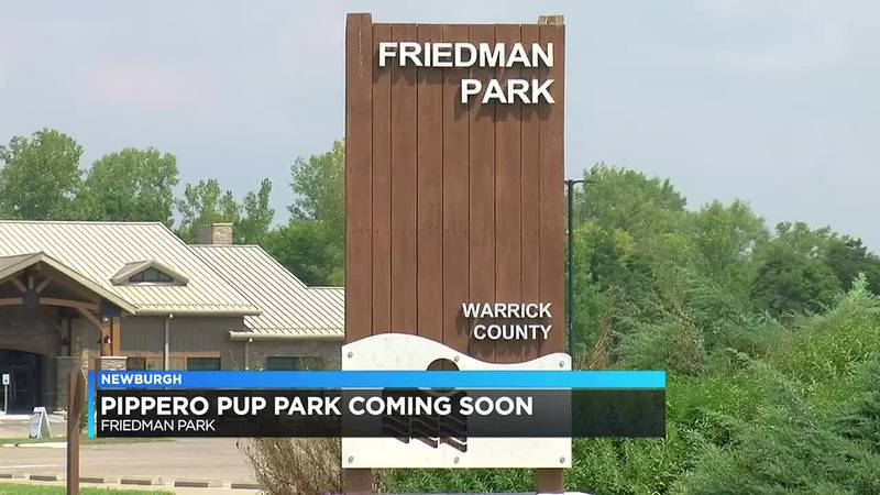 Friedman Park in Newburgh prepares to open new dog park