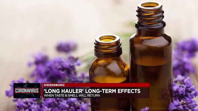 'Long hauler' long-term effects: When will taste & smell return?