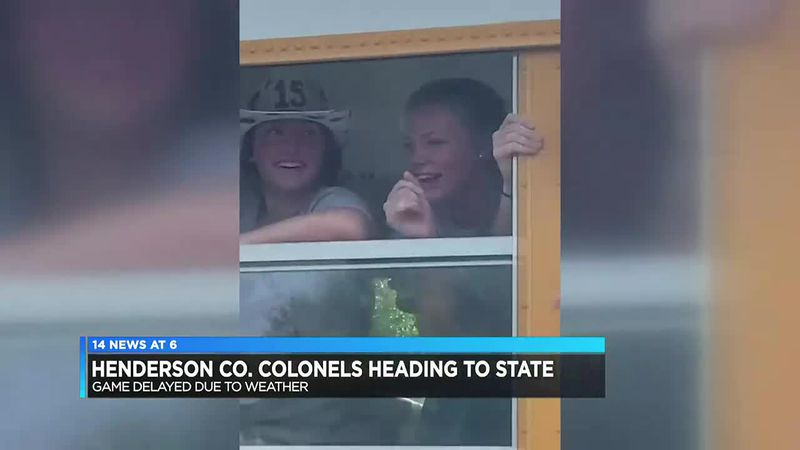 Henderson Co. softball receives special send-off as team heads to KHSAA Sweet 16