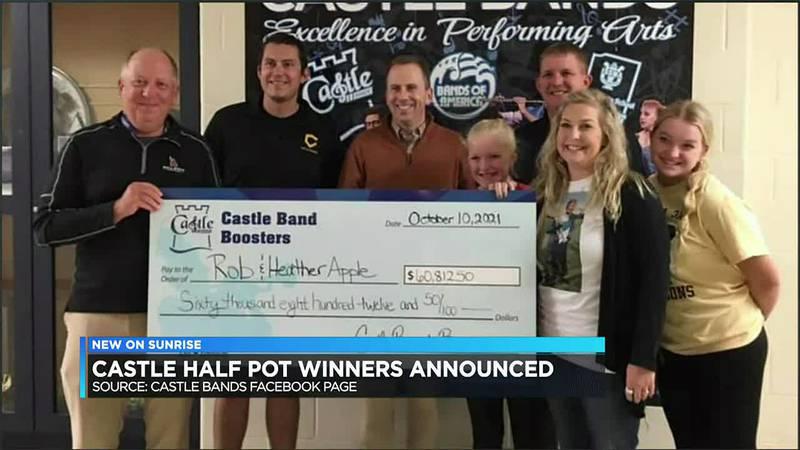 Castle Half-Pot winners announced.