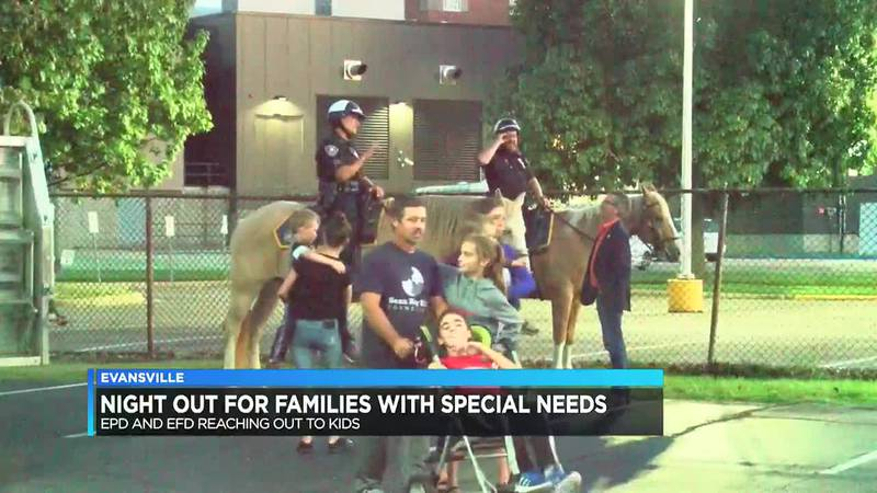Night Out for Special Needs Families kicked off Tues. night