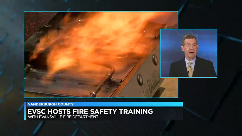 EVSC hosts fire safety training for staff members