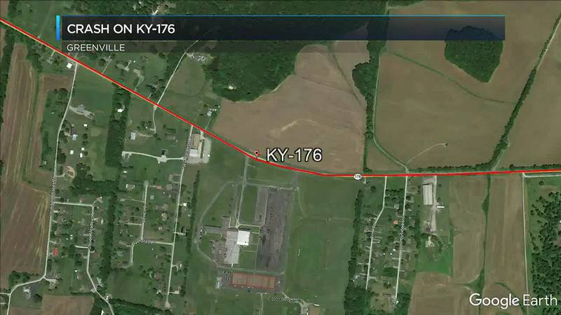 Crash shuts down KY 176 near MCHS East Campus in Greenville