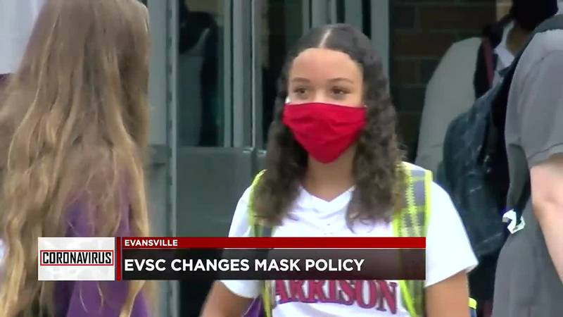EVSC changes mask policy