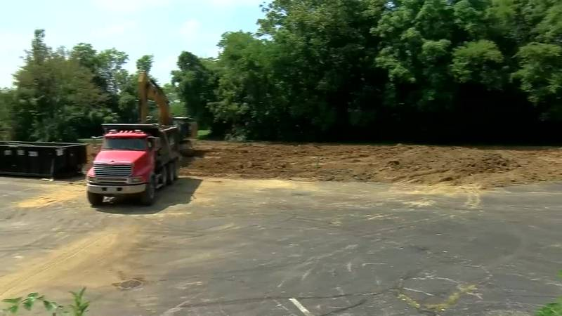 Former Newburgh Presbyterian Church lot now owned by couple