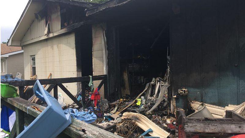 Little boy killed in house fire
