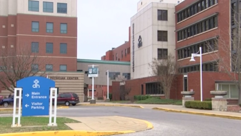 Medical officials at Deaconess say they are seeing an increase in patients due to COVID-19.