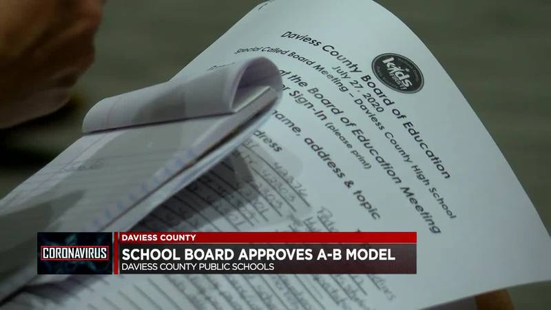Daviess Co. School Board approves reopening plan