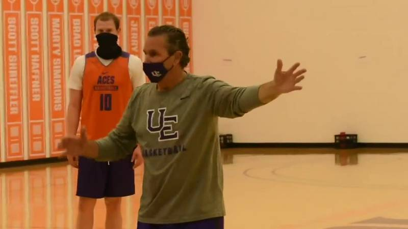 UE men's basketball hosts first official day of practice