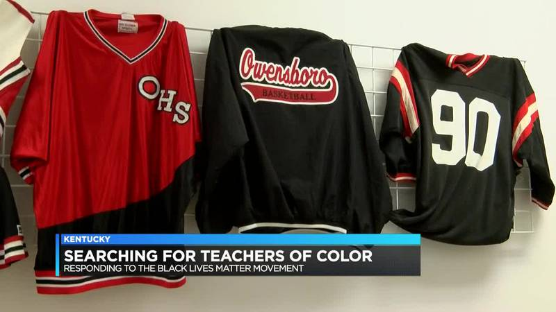 Kentucky leaders looking to hire more teachers of color