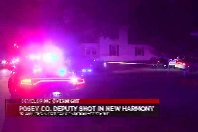 ISP continues to investigate New Harmony shooting.