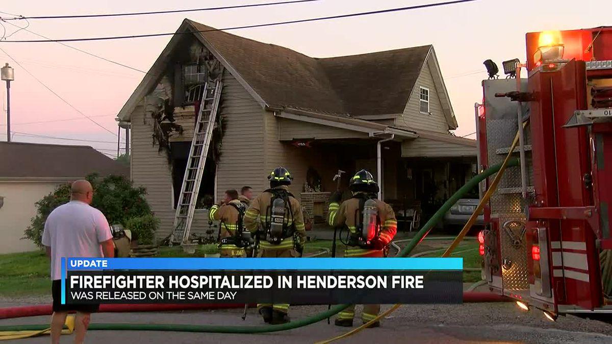 HFD: 1 firefighter taken to hospital following house fire