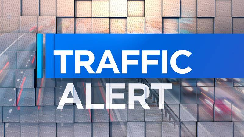 A traffic alert for drivers heading into Henderson from Evansville on Friday evening.
