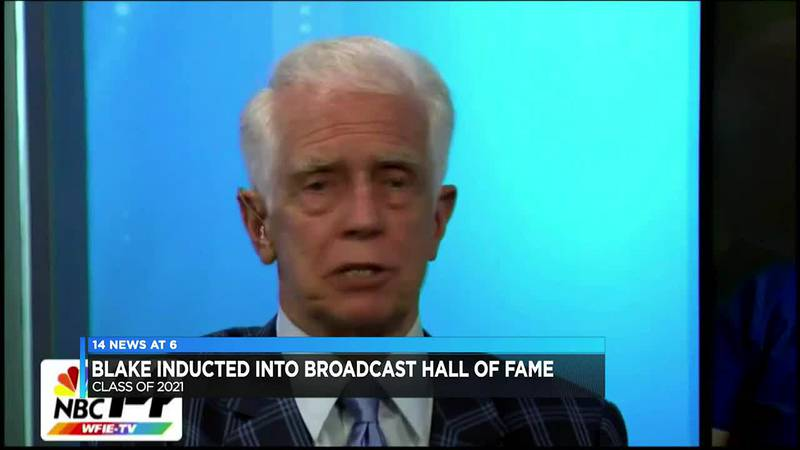 Mike Blake inducted into the Indiana Broadcasters Association Hall of Fame