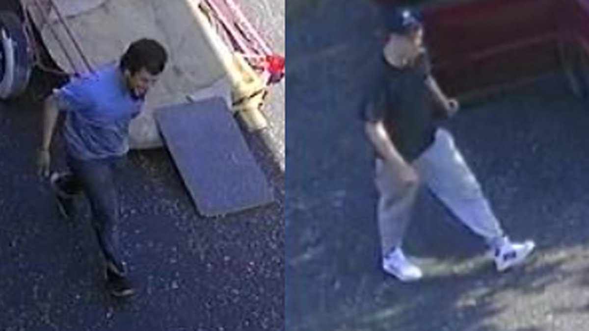 Evansville police looking for theft suspects.